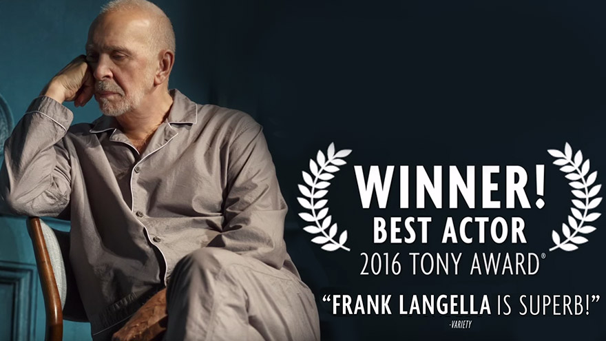 Best Actor Tony Winner 2016 Frank Langella in The Father video thumbnail